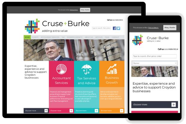 Cruse + Burke screenshot